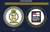 HMS Argyll Challenge Coin (with FREE name engraving)